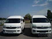Пассажирские перевозки,  прокат и аренда автотранспорта по г.Алматы